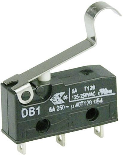 Cherry szubminiatűr mikrokapcsoló, 250V/AC, 1 váltó, forrasztós, DB1C-A1SC