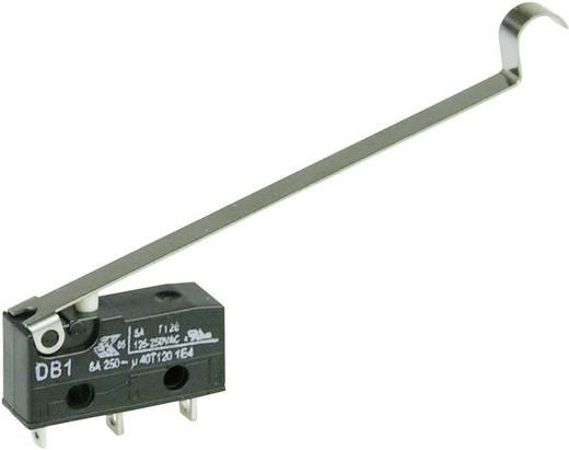 Cherry szubminiatűr mikrokapcsoló, 250V/AC, 1 váltó, forrasztós, DB1C-A1SD