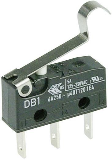 Cherry szubminiatűr mikrokapcsoló, 250V/AC, 1 váltó, csúszósarus, DB1C-B1SC