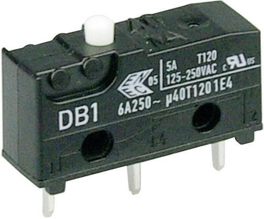 Cherry szubminiatűr mikrokapcsoló, 250V/AC, 1 váltó, nyákba forrasztós, DB1C-C1AA