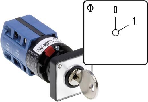 Kulcsos kikapcsoló Kapcsolási szög 60 ° 10 A Kraus & Naimer CG4 A200-600 FS2 V750D/2H