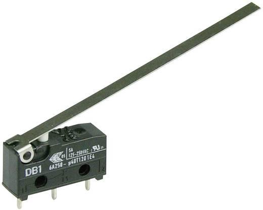 Cherry szubminiatűr mikrokapcsoló, 250V/AC, 1 váltó, nyákba forrasztós, DB1C-C1LD