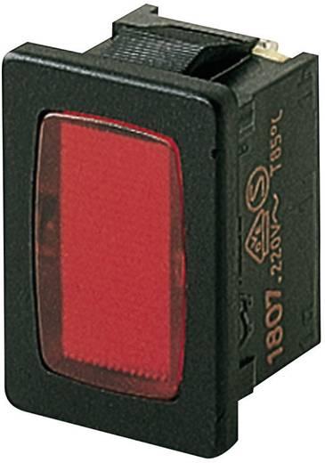 Marquardt jelzőlámpa, 230V/AC, piros, 1807.1102