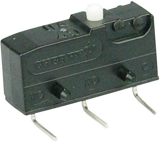 Cherry szubminiatűr mikrokapcsoló, 250V/AC, 1 váltó, nyákba forrasztós, DB1C-D3AA