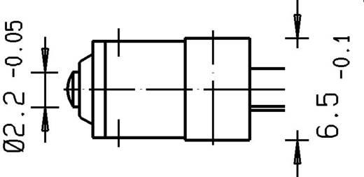 Szubminiatűr kapcsoló, forrfüllel, 3C-A1AA