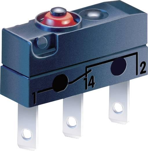 Szubminiatűr kapcsoló, dugós csatlakozással, egyenes, 3C-L1AA
