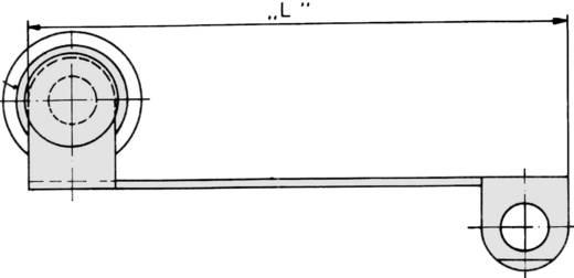KIEGÉSZÍTŐ MŰKÖDTETŐ GÖRGŐS KAR, , 57 MM, 7140262