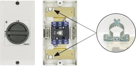EMV áramtalanító kapcsoló javítás idejére Kraus & Naimer KG 3 pólusú KG20 T103/D-A126 KL51V 0 állásban lezárható 7,5 kW
