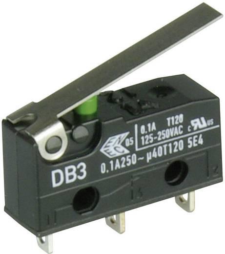 Cherry szubminiatűr mikrokapcsoló, 250V/AC, 1 váltó, forrasztós, DB3C-A1LC
