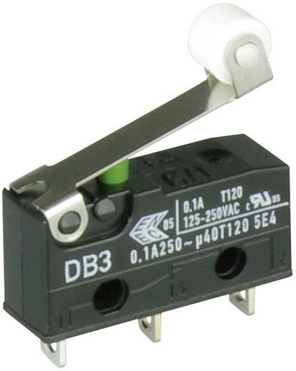 Cherry szubminiatűr mikrokapcsoló, 250V/AC, 1 váltó, forrasztós, DB3C-A1RB