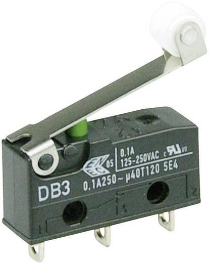 Cherry szubminiatűr mikrokapcsoló, 250V/AC, 1 váltó, forrasztós, DB3C-A1RC