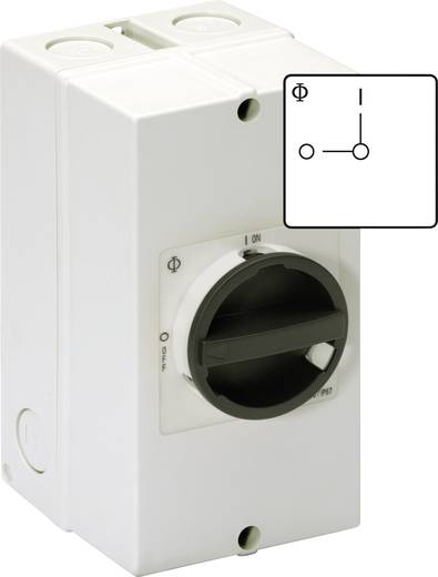 Kézikapcsoló KG 3 pólusú 0 állásban lakattal lezárható 5,5 kW Kraus & Naimer KG10 T103/40 KS51V
