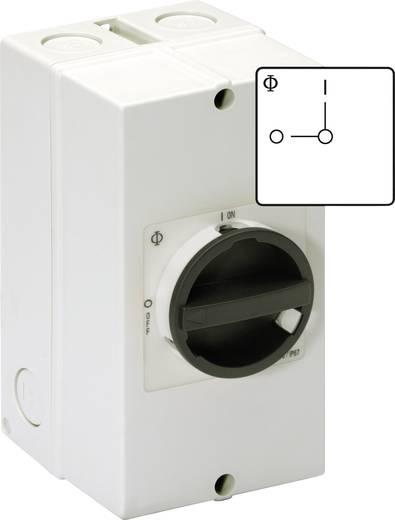 Kézikapcsoló KG 3 pólusú KL51V 0 állásban lakattal lezárható 11 kW Kraus & Naimer KG32 T103/40