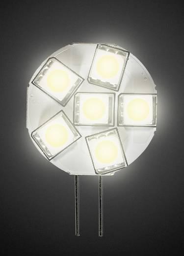 LED DioDor, dimmelhető, 30 V G4 1.3 W = 20 W Melegfehér, tartalom: 1 db, DIO-LED6MG4L