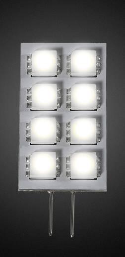 LED izzó 42 mm 30 V G4 1.3 W = 20 W, melegfehér, dimmelhető, 1 db, DioDor