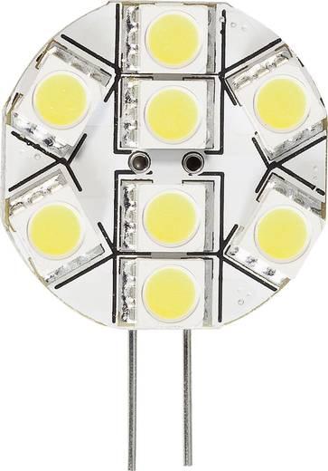 LED izzó 30 V G4 1.3 W = 20 W, melegfehér, dimmelhető, 1 db, DioDor