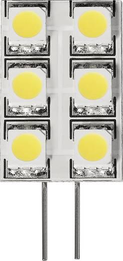 LED DioDor, dimmelhető, 30 V G4 1.2 W = 15 W Melegfehér, tartalom: 1 db