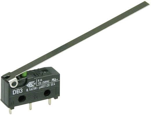 Cherry szubminiatűr mikrokapcsoló, 250V/AC, 1 váltó, nyákba forrasztós, DB3C-C1LD