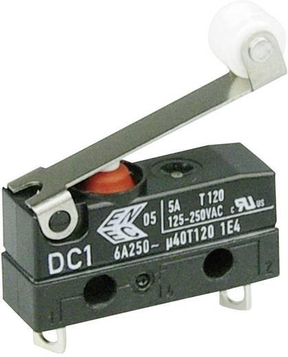 Cherry Switches Szubminiatűr kapcsoló, 250 V/AC DC1 DC1B-A1RC 1 nyitó Forrasztható csatlakozás 250 V/AC IP67 5 db
