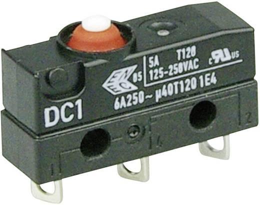 Szubminiatűr kapcsoló, 250 V/AC 1 váltó Forrasztható csatlakozás 250 V/AC IP67 Cherry Switches DC1C-A1AA
