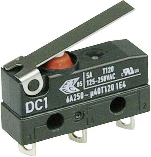 Szubminiatűr kapcsoló, 250 V/AC 1 váltó Forrasztható csatlakozás 250 V/AC IP67 Cherry Switches DC1C-A1LB
