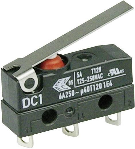 Szubminiatűr kapcsoló, 250 V/AC 1 váltó Forrasztható csatlakozás 250 V/AC IP67 Cherry Switches DC1C-A1LC