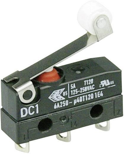 Szubminiatűr kapcsoló, 250 V/AC 1 váltó Forrasztható csatlakozás 250 V/AC IP67 Cherry Switches DC1C-A1RB