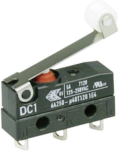 Szubminiatűr kapcsoló, 250 V/AC 1 váltó Forrasztható csatlakozás 250 V/AC IP67 Cherry Switches DC1C-A1RC