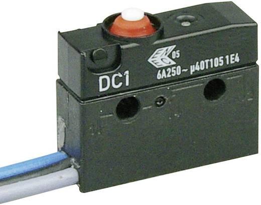 Szubminiatűr kapcsoló, 250 V/AC 1 váltó Litze 500 mm 250 V/AC IP67 Cherry Switches DC1C-C3AA