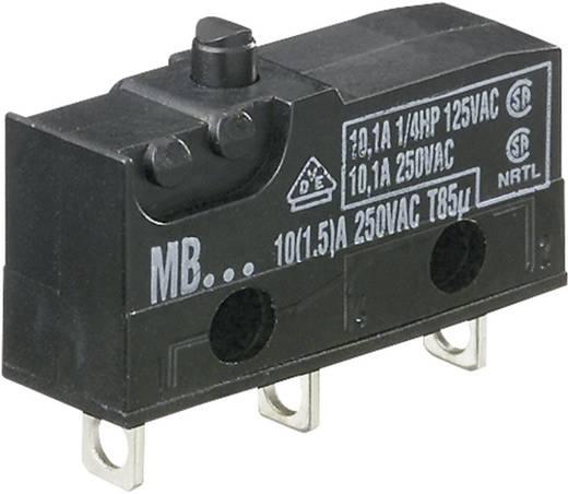 Mikrokapcsoló 250 V/AC 10 A 1 x BE/(BE) Hartmann MBF5A Nyomó 1 db