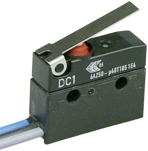 Szubminiatűr kapcsoló, 250 V/AC 1 váltó Litze 500 mm 250 V/AC IP67 Cherry Switches DC1C-C3LB