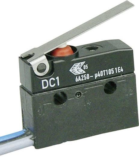 Szubminiatűr kapcsoló, 250 V/AC 1 váltó Litze 500 mm 250 V/AC IP67 Cherry Switches DC1C-C3LC