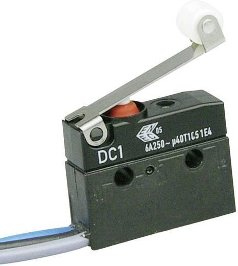 Szubminiatűr kapcsoló, 250 V/AC 1 váltó litze 500 mm 250 V/AC IP67 Cherry Switches DC1C-C3RC