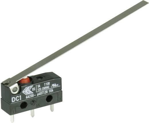 Szubminiatűr kapcsoló, 250 V/AC 1 váltó Áramköri lap csatlakozó 1,3 x 0,5 mm 250 V/AC IP67 Cherry Switches DC1C-H1LD