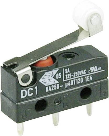 Szubminiatűr kapcsoló, 250 V/AC 1 váltó Áramköri lap csatlakozó 1,3 x 0,5 mm 250 V/AC IP67 Cherry Switches DC1C-H1RB