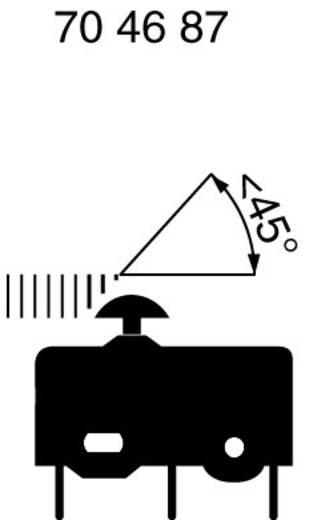 Marquardt mikrokapcsoló 250V/AC, 1050.0202