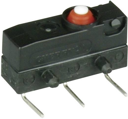 Szubminiatűr kapcsoló, 250 V/AC 1 váltó 0,6 x 0,5 mm, balos 250 V/AC IP67 Cherry Switches DC1 DC1C-K9AA
