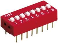 DIL kapcsoló 8 pólus, Diptronics DS-08V (DS-08V) Diptronics
