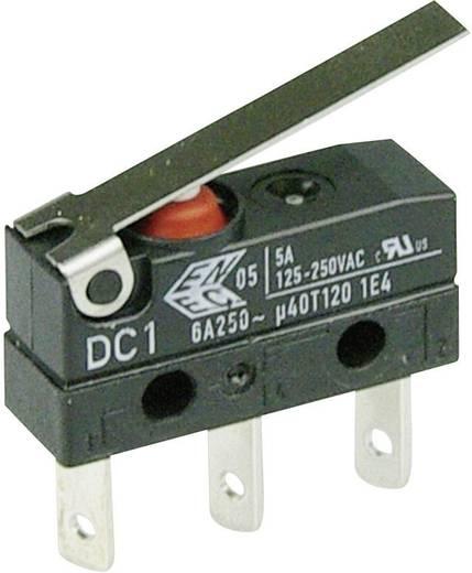 Szubminiatűr kapcsoló, 250 V/AC 1 váltó Laposérintkezős dugó 2,8 x 0,5 mm 250 V/AC IP67 Cherry Switches DC1 DC1C-L1LC