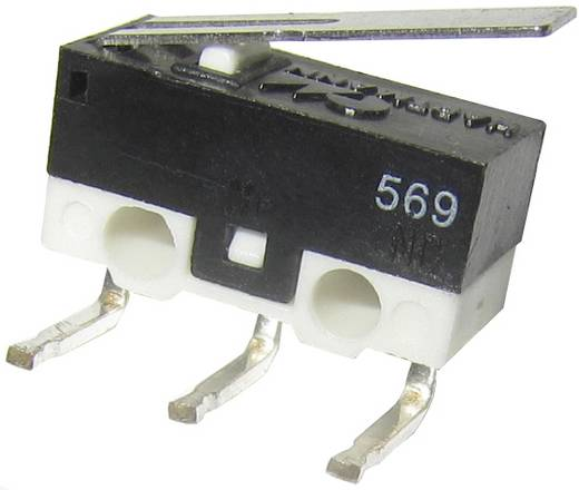 Hartmann szubminiatür mikrokapcsoló 125V/AC 3A, MDB1 05C01C03A