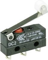 Cherry Switches Szubminiatűr kapcsoló, 250 V/AC DC2 DC2C-A1RC 1 váltó Forrasztható csatlakozás IP67 (DC2C-A1RC) Cherry Switches