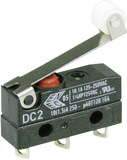 Cherry Switches Szubminiatűr kapcsoló, 250 V/AC DC2 DC2C-A1RC 1 váltó Forrasztható csatlakozás IP67