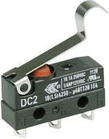 Szubminiatűr kapcsoló, 250 V/AC 1 váltó Forrasztható csatlakozás IP67 Cherry Switches DC2C-A1SC (DC2C-A1SC) Cherry Switches