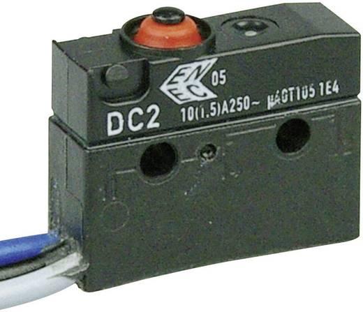 Szubminiatűr kapcsoló, 250 V/AC 1 váltó Litze 500 mm IP67 Cherry Switches DC2C-C3AA