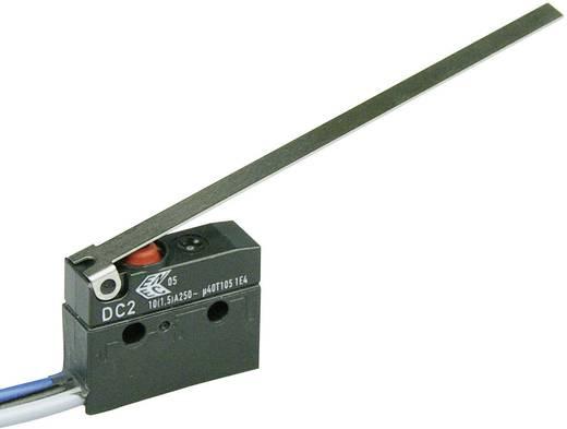 Szubminiatűr kapcsoló, 250 V/AC 1 váltó Litze 500 mm IP67 Cherry Switches DC2C-C3LD