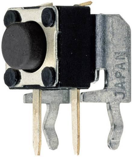 Mini impulzus nyomógomb 2mm 50V/50mA, T632, álló