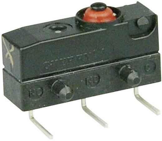 Szubminiatűr kapcsoló, 250 V/AC 1 váltó 0,6 x 0,5 mm, balos IP67 Cherry Switches DC2C-K9AA
