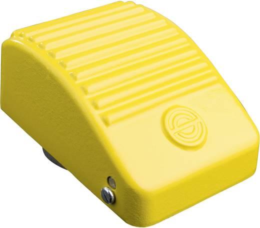 Schlegel Lábkapcsolók, KEF könnyűfém házban KEF IN GELB Könnyűfém Sárga 1 záró, 1 nyitó 250 V/AC 10 A