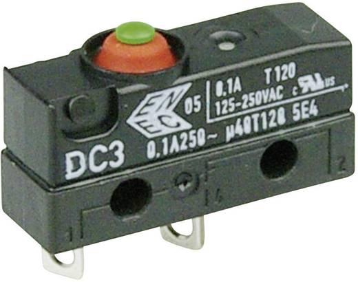 Szubminiatűr kapcsoló, 250 V/AC 1 záró Forrasztható csatlakozás IP67 Cherry Switches DC3A-A1AA