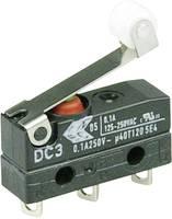 Szubminiatűr kapcsoló, 250 V/AC 1 váltó Forrasztható csatlakozás IP67 Cherry Switches DC3C-A1RB (DC3C-A1RB) Cherry Switches